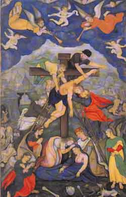 the little magazine other amartya sen christ s deposition from the cross mughal painting executed during akbar s rule under the supervision of his son jahangir in lahore